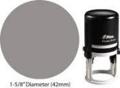 "Special Stamp # 2 - Max Stamp 1-5/8"" Round Self-Inking"